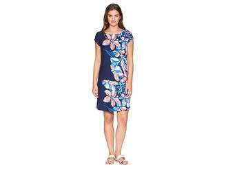 Tommy Bahama Le Tigre Floral Cap Sleeve Dress