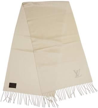Louis Vuitton White Cashmere Scarves