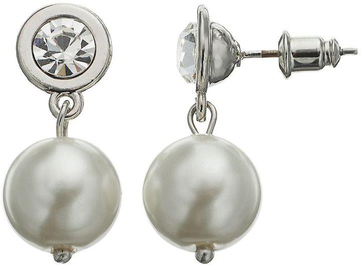 Vera Wang Simply vera drop earrings