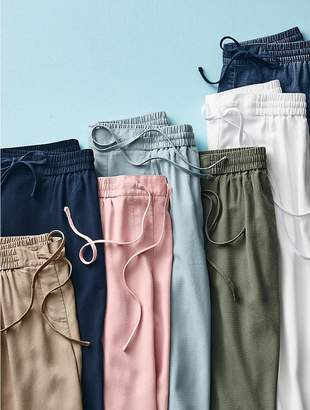 Talbots The Easy Drawstring Slim-Leg Pant