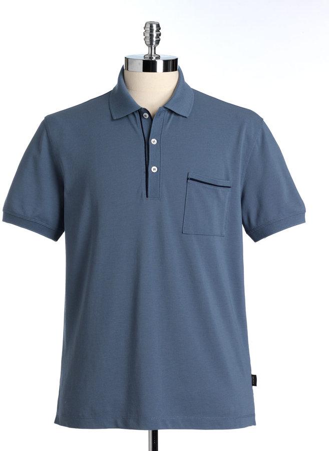 BOSS HUGO BOSS Firenze Cotton Polo Shirt