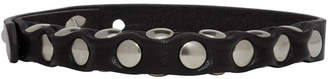 Black Leather Yucatan Bracelet