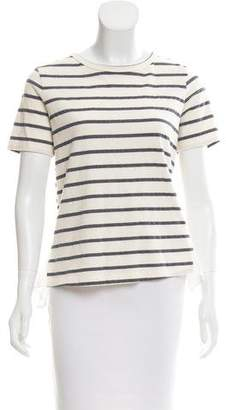 Clu Stripe Short Sleeve Top