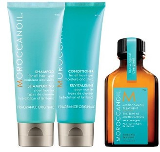 Moroccanoil Moisture & Shine Travel Kit $26 thestylecure.com