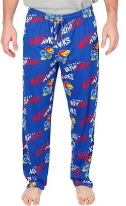 NCAA Kansas Forerunner Big Men's AOP Knit Pant, 2XL