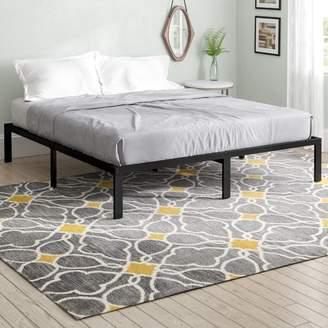 Latitude Run Yetter Steel Slat Bed Frame