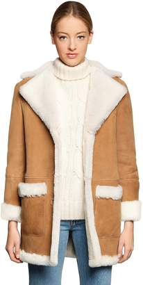 Couture Forte Dei Marmi Montalbano Shearling Fur Coat