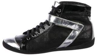 Christian Dior Diorissimo High-Top Sneakers