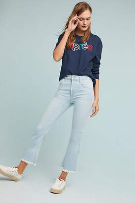 Citizens of Humanity Drew Fray High-Rise Cropped Flare Jeans