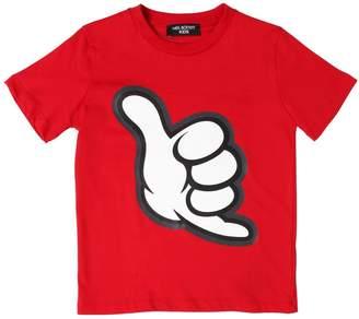 Neil Barrett HAND コットンジャージーTシャツ