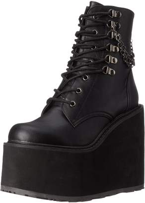 Demonia Women's Swi101/Bvl Combat Boot