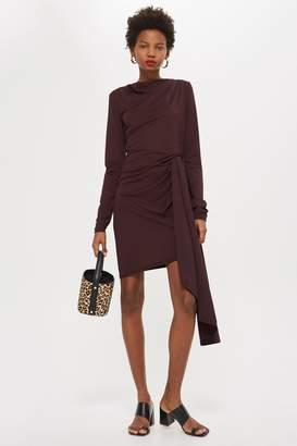 Topshop TALL Aysemmetric Hem Dress