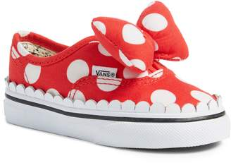 Vans x Disney Authentic Gore Minnie Mouse Bow Slip-On Sneaker