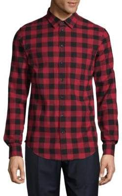 Zadig & Voltaire Sigfried Plaid Flannel Button-Down Shirt