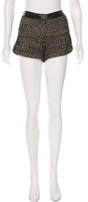 Robert Rodriguez Tweed Mini Shorts