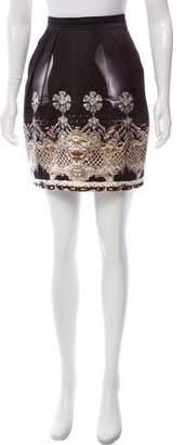 Mary Katrantzou Printed Mini Skirt
