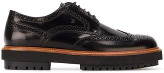 Tod's chunky sole brogues