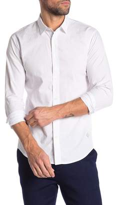 Scotch & Soda Mini Stitch Slim Fit Shirt