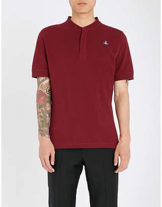 Vivienne Westwood Logo-embroidered cotton-piqué polo shirt