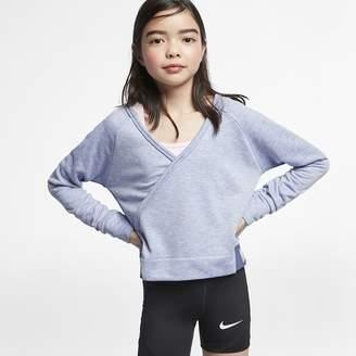 07fb115539d3a Nike Big Kids  (Girls ) Long-Sleeve Reversible Training Top