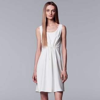Vera Wang Women's Simply Vera Gathered-Waist Shift Dress