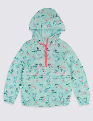 Marks and Spencer Flamingo Windrunner Coat (3-16 Years)