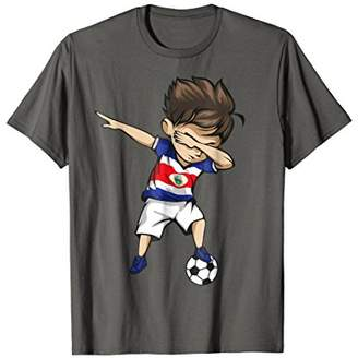 1fbffe8d1 ... Dabbing Soccer Boy Costa Rica Jersey Shirt - Football Gift