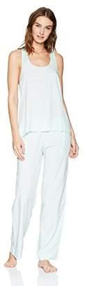Mae Women's Sleepwear Racer Back Pajama Set