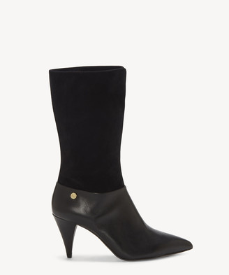 Louise et Cie Women's Winslow Mid Height Boots Black Size 5 From Sole Society