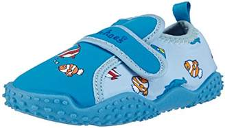Playshoes GmbH UV Protection Aqua Fishes, Unisex-Baby Walking Baby Shoes,(32/33 EU)