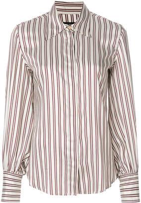 Isabel Marant striped longsleeved collared shirt