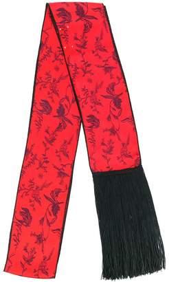 Forte Forte floral print fringed belt