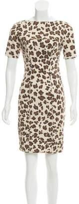 Blumarine Leopard Print Mini Dress