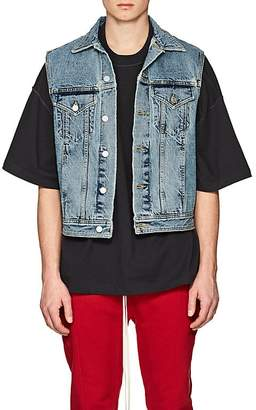 Fear Of God Men's Logo Denim Vest