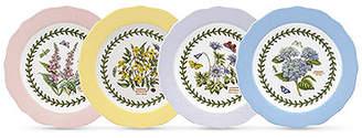 Portmeirion Dinnerware, Set of 4 Botanic Garden Terrace Assorted Dessert Plates