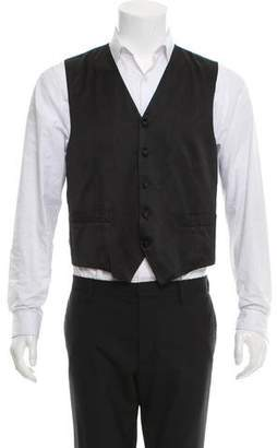 Valentino Silk Suit vest