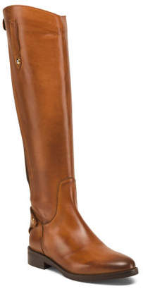 Made In Italy High Shaft Leather Boots