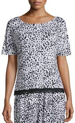 CosabellaCosabella Majestic Printed Pajama Top