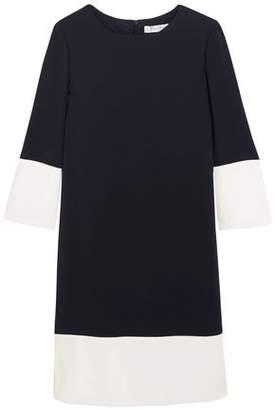 Max Mara Two-Tone Crepe Mini Dress