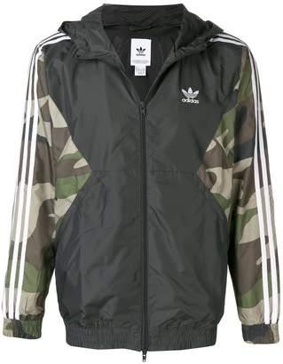 adidas Utility zipped hoodie