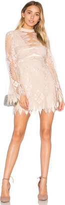 Free People Deco Lace Mini Dress $148 thestylecure.com