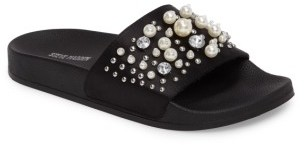 Women's Steve Madden Sandy Embellished Slide Sandal