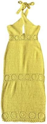 NBD Yellow Cotton Dress for Women