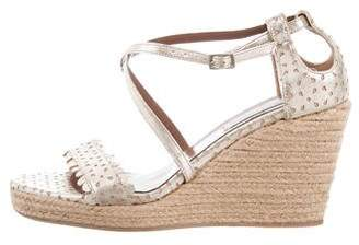 Tabitha Simmons Espadrille Wedge Sandals