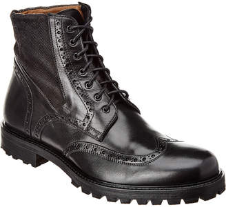 Gordon Rush Italy Wingtip Lace-Up Leather Boot