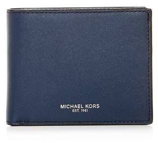 Michael Kors Henry Slim Leather Bi-Fold Wallet
