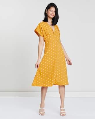 Daisy Chain Midi Dress