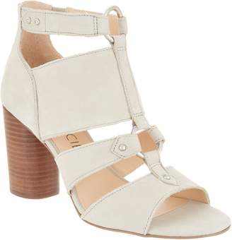Sole Society Cut-out Heeled Sandals - Sadey