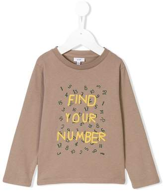 Knot Find your number sweatshirt