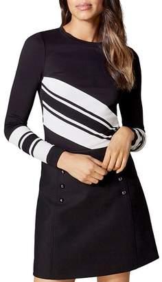 Karen Millen Block Striped Top